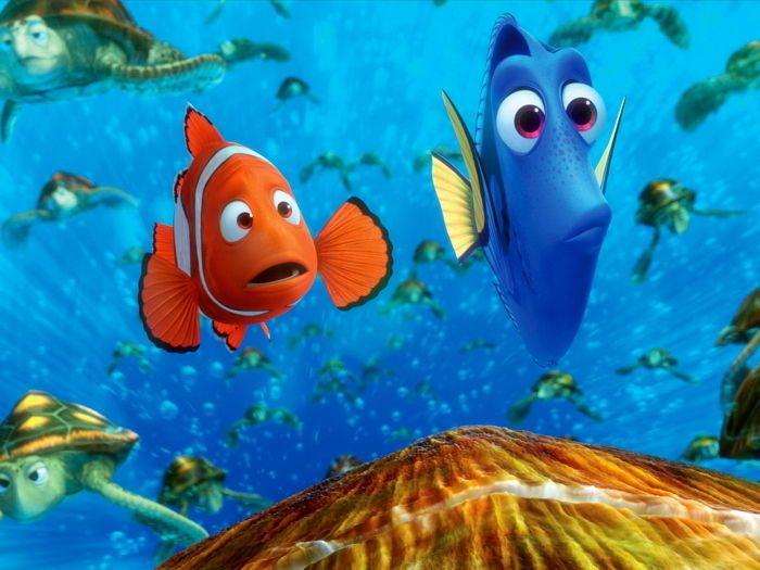 Finding Nemo Pixar Movie Wall Print POSTER #PopArt ...  Walt Disney Pictures Presents A Pixar Animation Studios Film Finding Nemo