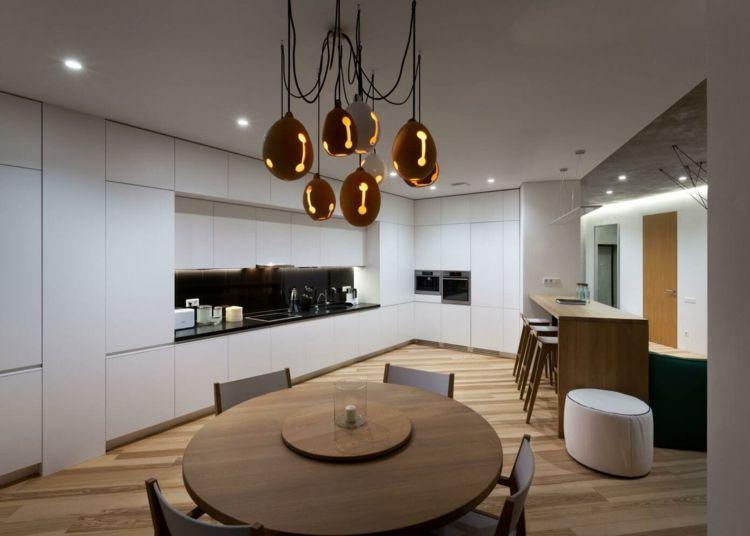 farbe-gruen-beleuchtung-attraktiv-farben-inspiration Wohnideen - wohnideen wohnzimmer farbe