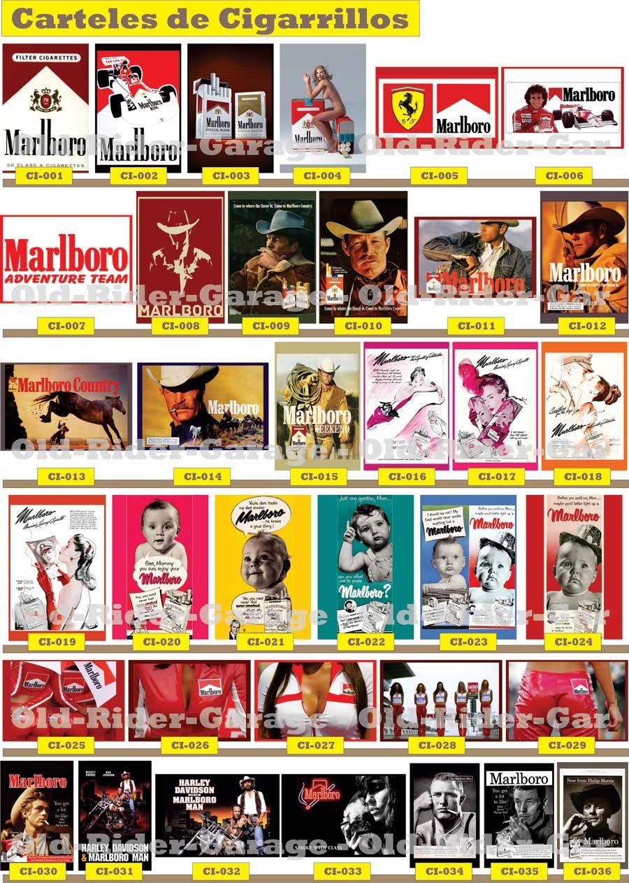 Old Rider Garage Com Carteles Antiguos Bordados Pinterest  # Muebles Para Cigarros