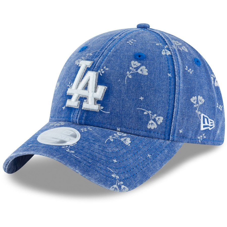 size 40 58bc2 42522 Women s Los Angeles Dodgers New Era Royal Floral Shine 9TWENTY Adjustable  Hat,  23.99