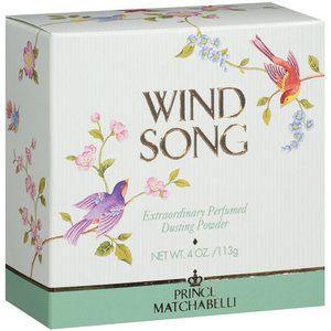 Prince Matchabelli Wind Song Perfumed Dusting Powder, 4 oz