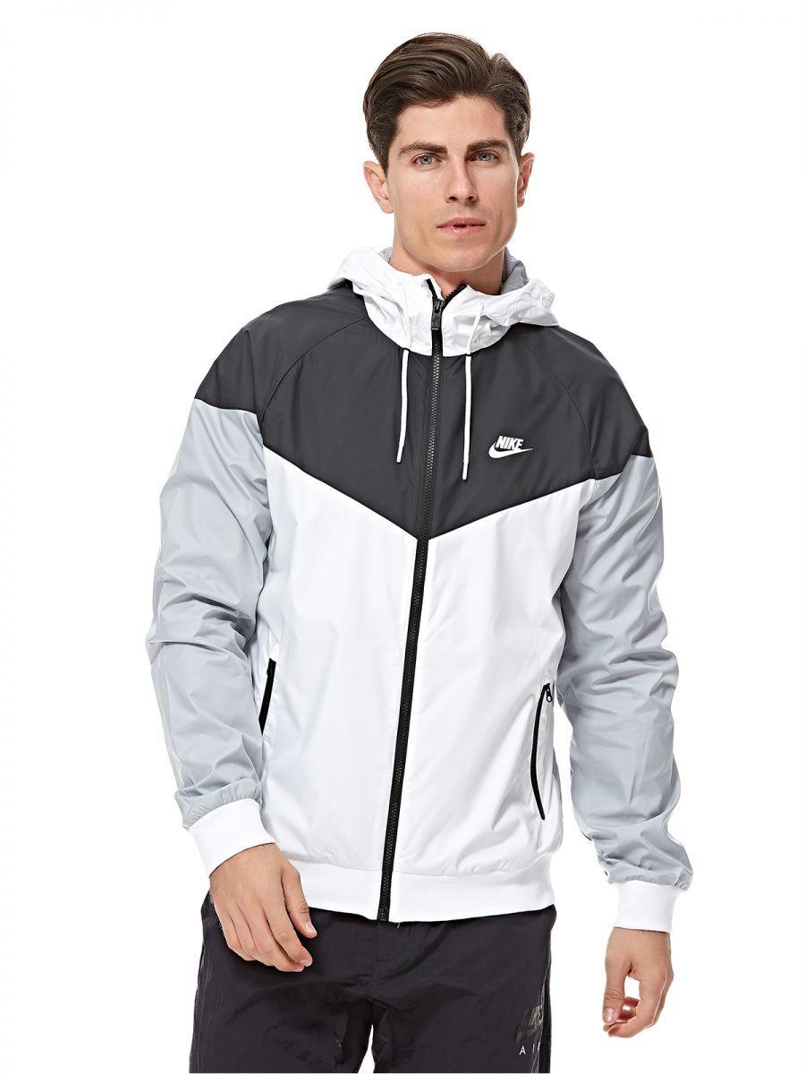 e372999f5 Buy Nike Zip Up Hoodie For Men - Grey - Jackets & Coats | UAE | Souq