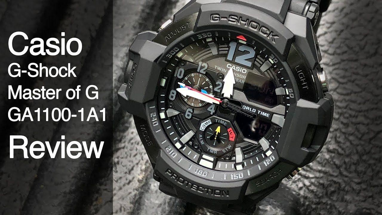 This watch is Crazy! Casio GA1100 Review G Shock! (met