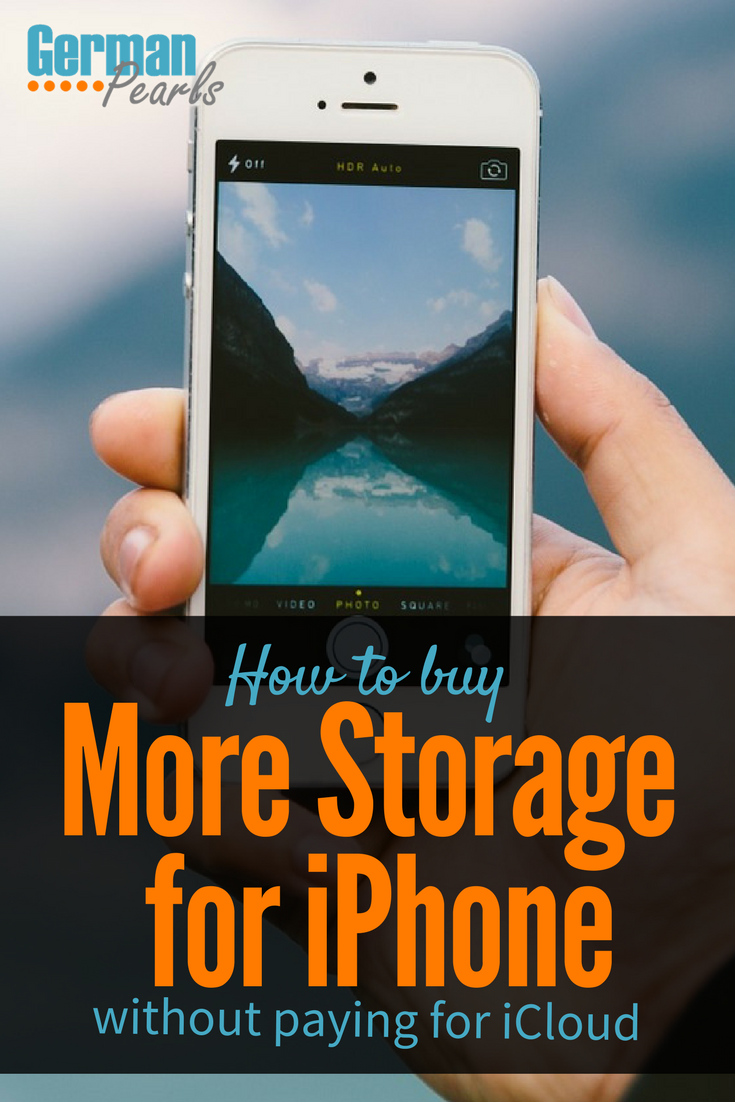 How To Buy More Storage For Your Iphone Not Icloud Iphone Ipad Hacks Iphone Accessories