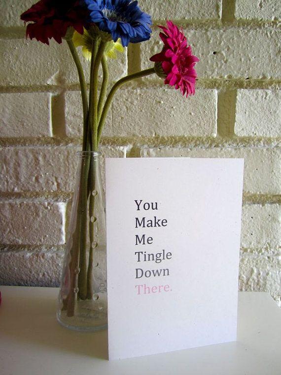 Adult card e funny valentine