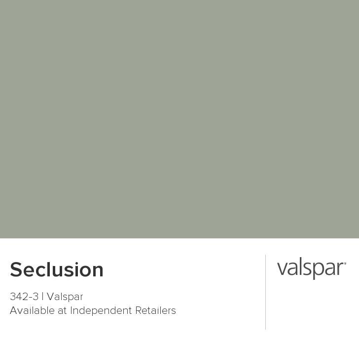 Valspar Seclusion Sage Green Paint Colors Best Gray Color