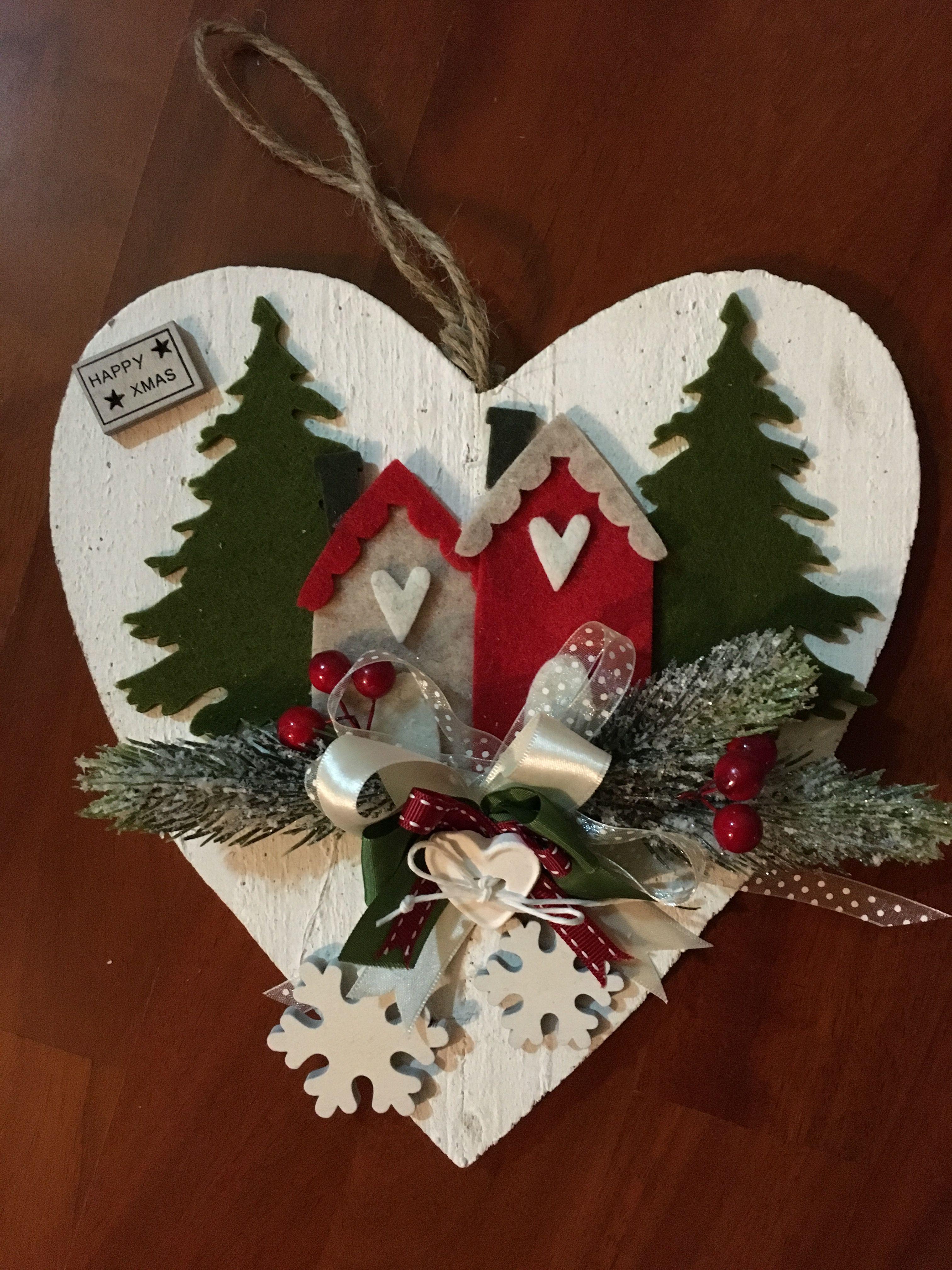 Lavoretti Di Natale Patchwork.Fuori Porta Natalizio Lavoretti Di Natale Ghirlande Di
