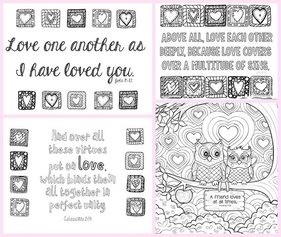 Love Bible Verse Coloring Pages Bible Verse Coloring Page Quote