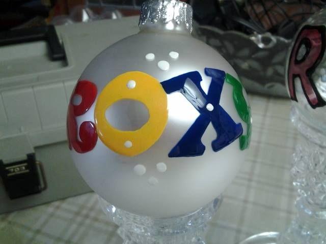 """""""ROXY"""" ornament 2"""