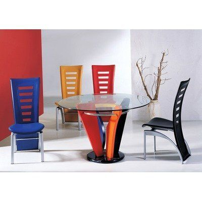 Global Furniture Usa Neville Casual Multi Color Dining Table By Global Furniture Us Modern Dining Room Tables Dining Room Interiors Interior Design Dining Room