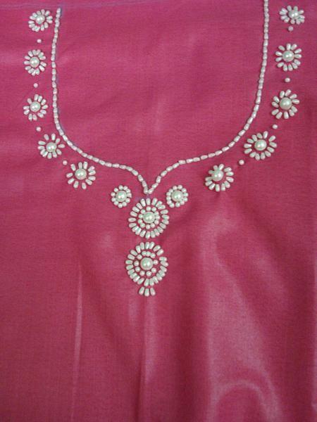 Hand embroidery designs for neck بحث google needle
