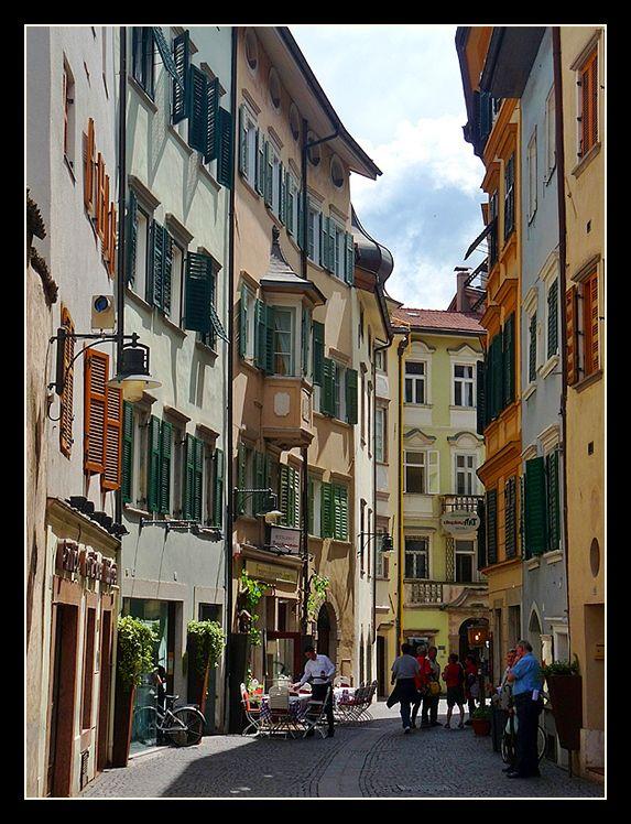 Franziskanergasse Street,  Bolzano, Italy