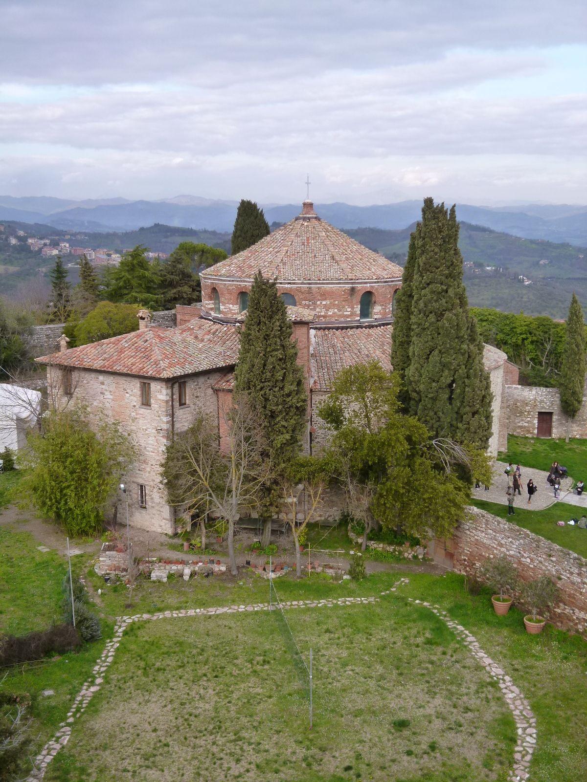 Vedere da 「Porta Sant' Angelo」, Perugia,Italia