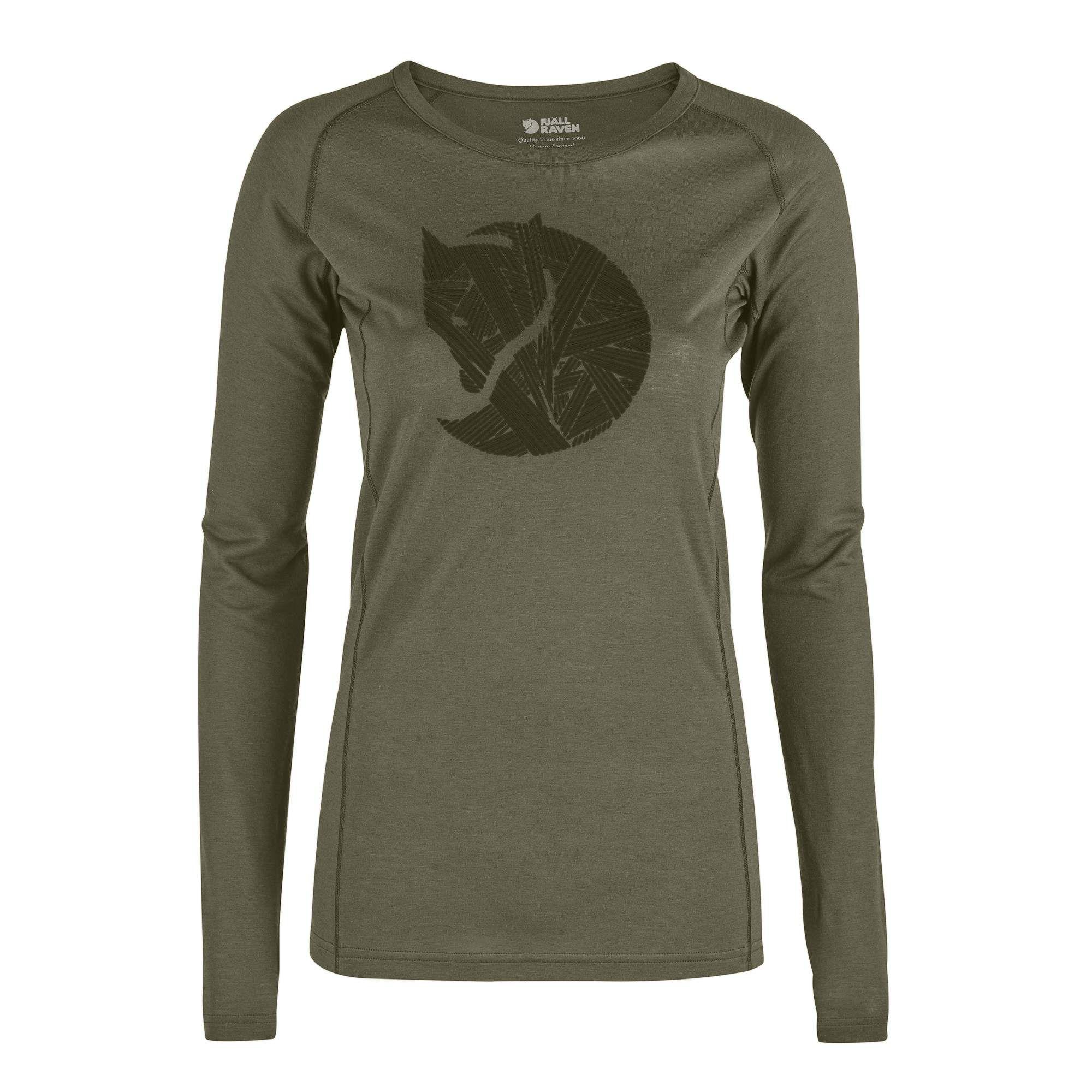 FJ/ÄLLR/ÄVEN Damen Abisko Hike Longsleeve Shirt