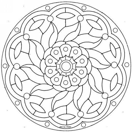 Idee Von Katarzyna Weber Auf Sticken Embroidery Haftowanie Mandala Ausmalen Madchen Malen Ausmalbilder