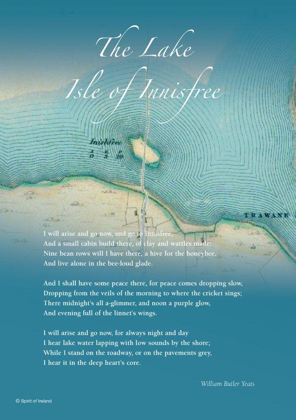 the lake isle of innisfree by william butler yeats analysis