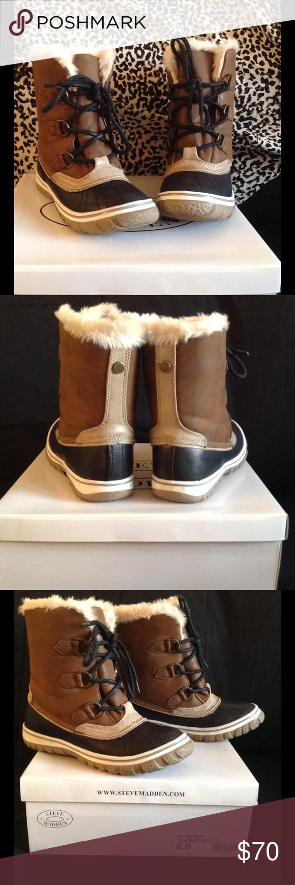 Steve Madden winter boots size 6