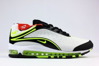 c6ca574f9f2 Mens Nike Air Max Deluxe OG 1999 Kpu Shoes White Green Black