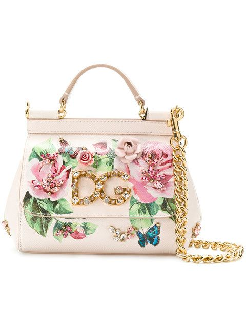 060876c300 Dolce & Gabbana Small Sicily Rose Print Bag $3,150 - Shop SS18 Online -  Fast Delivery, Price