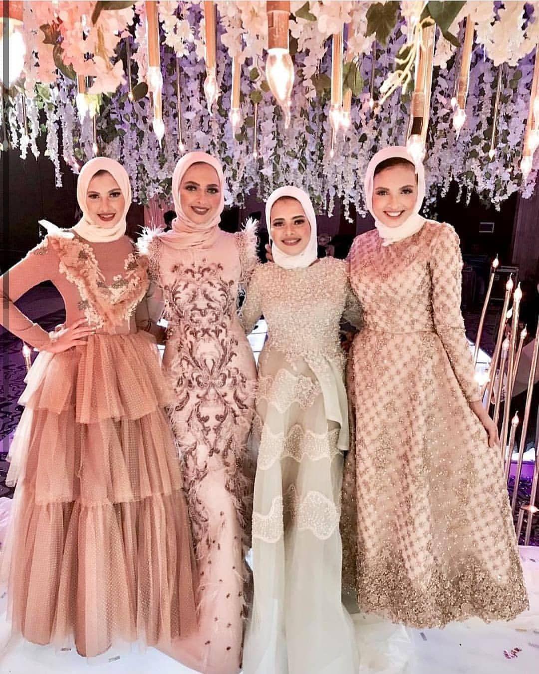 فولوو يابنات لصفحتنا التانيه هنزل عليها لبس خروج مختلف وشيك جدا Elmoda Bloggers Elmoda Blogg Soiree Dress Wedding Party Outfits Hijab Dress Party