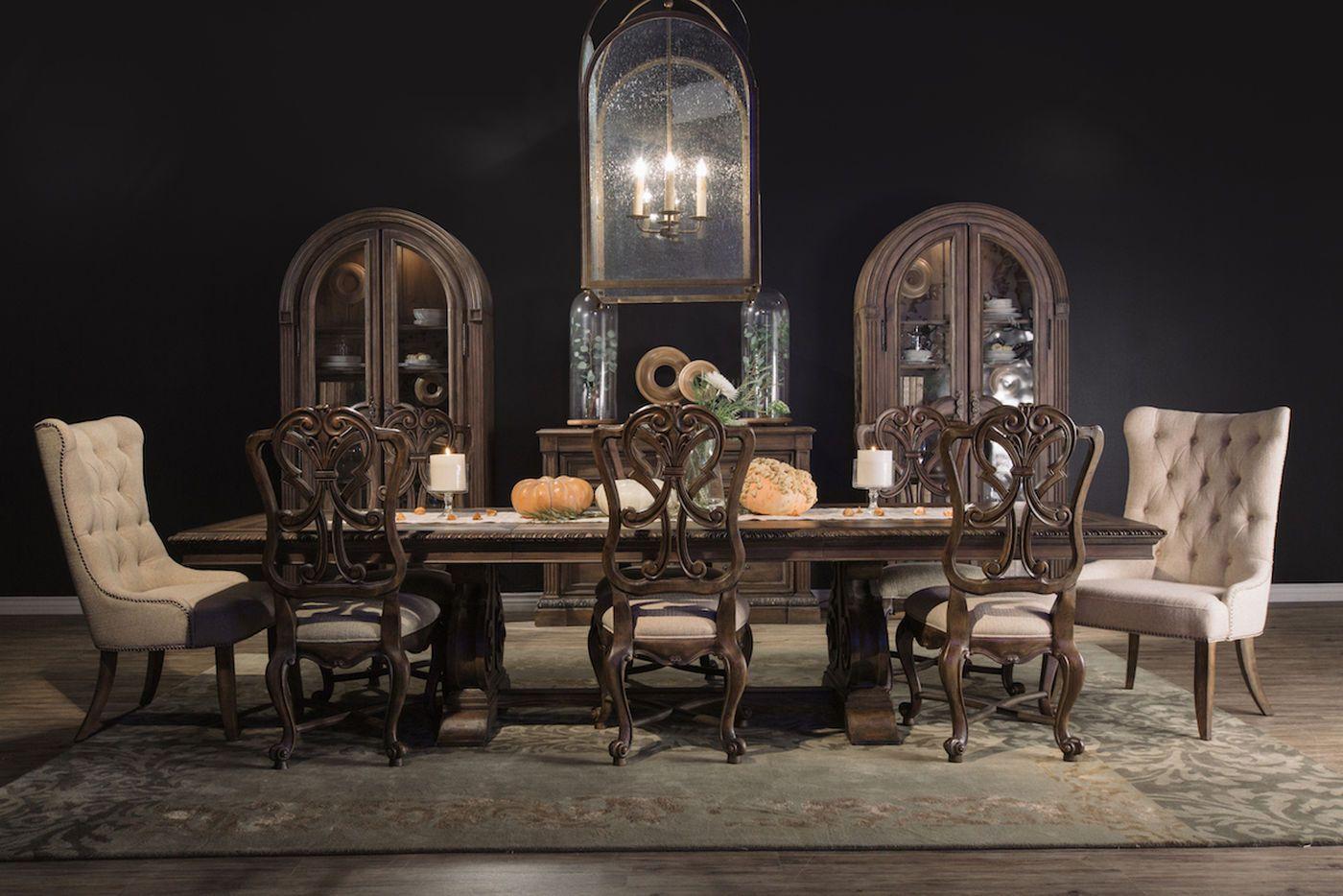 DINING ROOM HOOK 5070 Hooker Rhapsody Dining Table