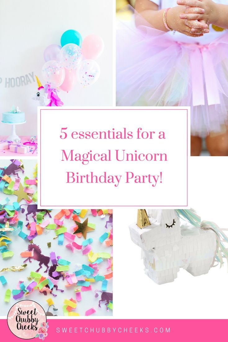 Five Essentials for a Magical Unicorn Birthday Party Unicorn