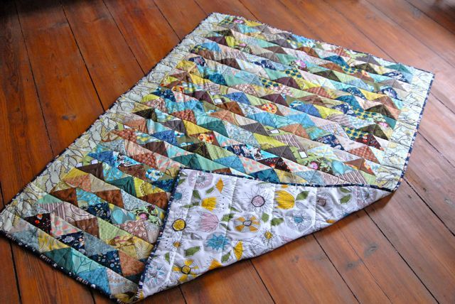 Fall Flying Geese Quilt | por berlinquilter