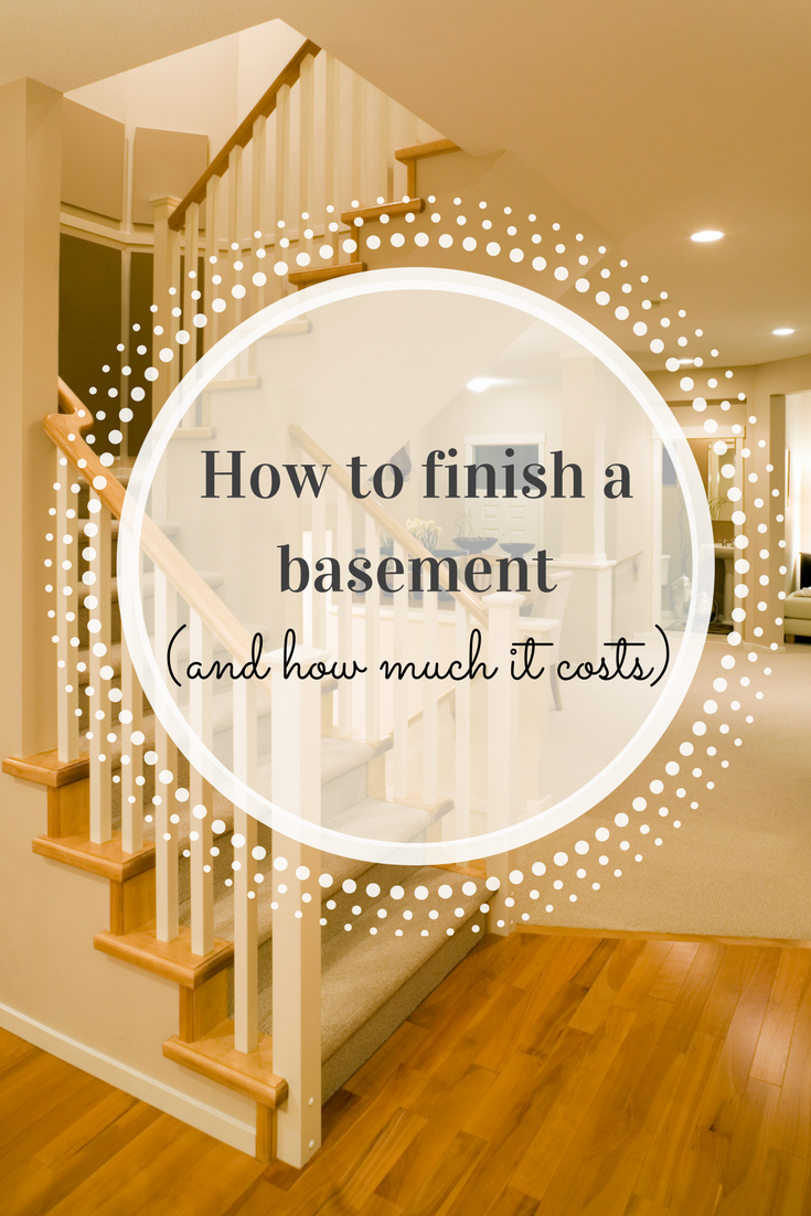 How To Finish A Basement And How Much It Costs With Images