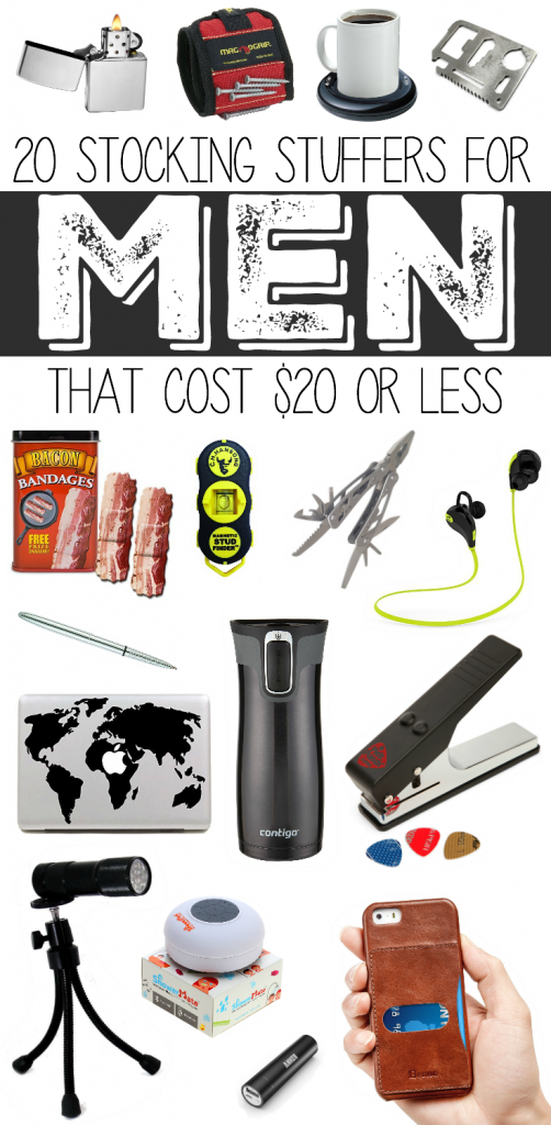 20 Stocking Stuffers For Men That Cost Or Less