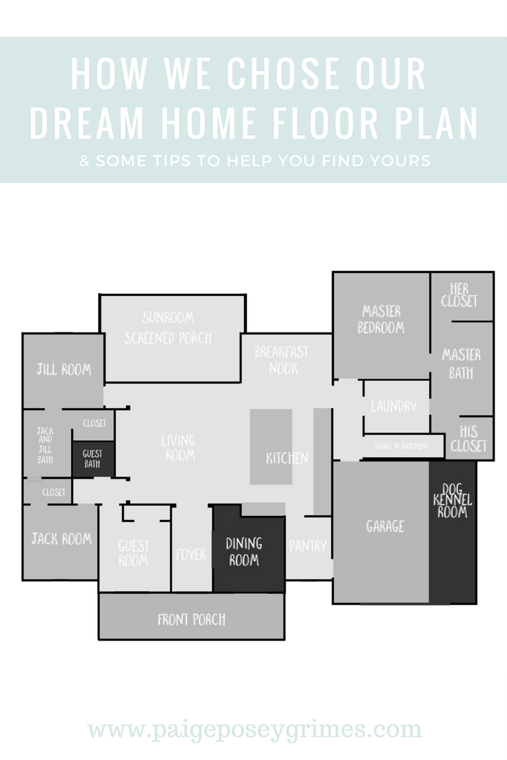 Choosing A Floor Plan For Our Dream Home How You Can Find The Perfect House Of Your Family
