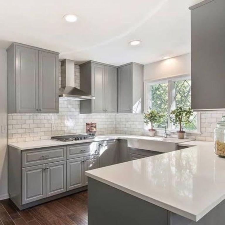 Cool Grey Kitchen Cabinet Ideas 43 Kitchen Pinterest Grey