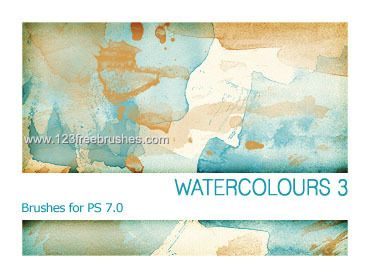 Watercolour 8 - Download  Photoshop brush http://www.123freebrushes.com/watercolour-8/ , Published in #GrungeSplatter. More Free Grunge & Splatter Brushes, http://www.123freebrushes.com/free-brushes/grunge-splatter/ | #123freebrushes