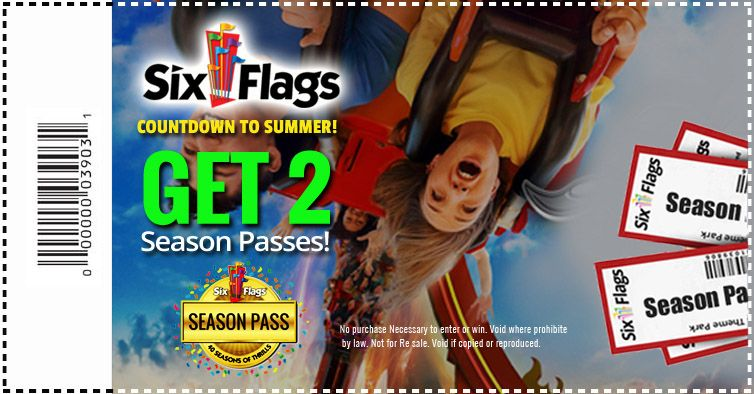 Get A Pair Of Six Flags Season Passes Summeriscoming Summertime Fun Six Flags Flag Outfit