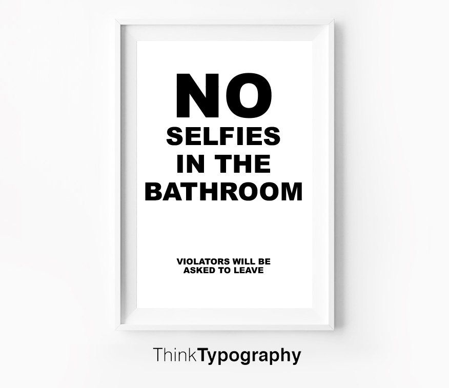 EHP Selfportrait Of Adriana Ivancich In Bathroom Mirror - Noselfies 9 places where selfies are banned