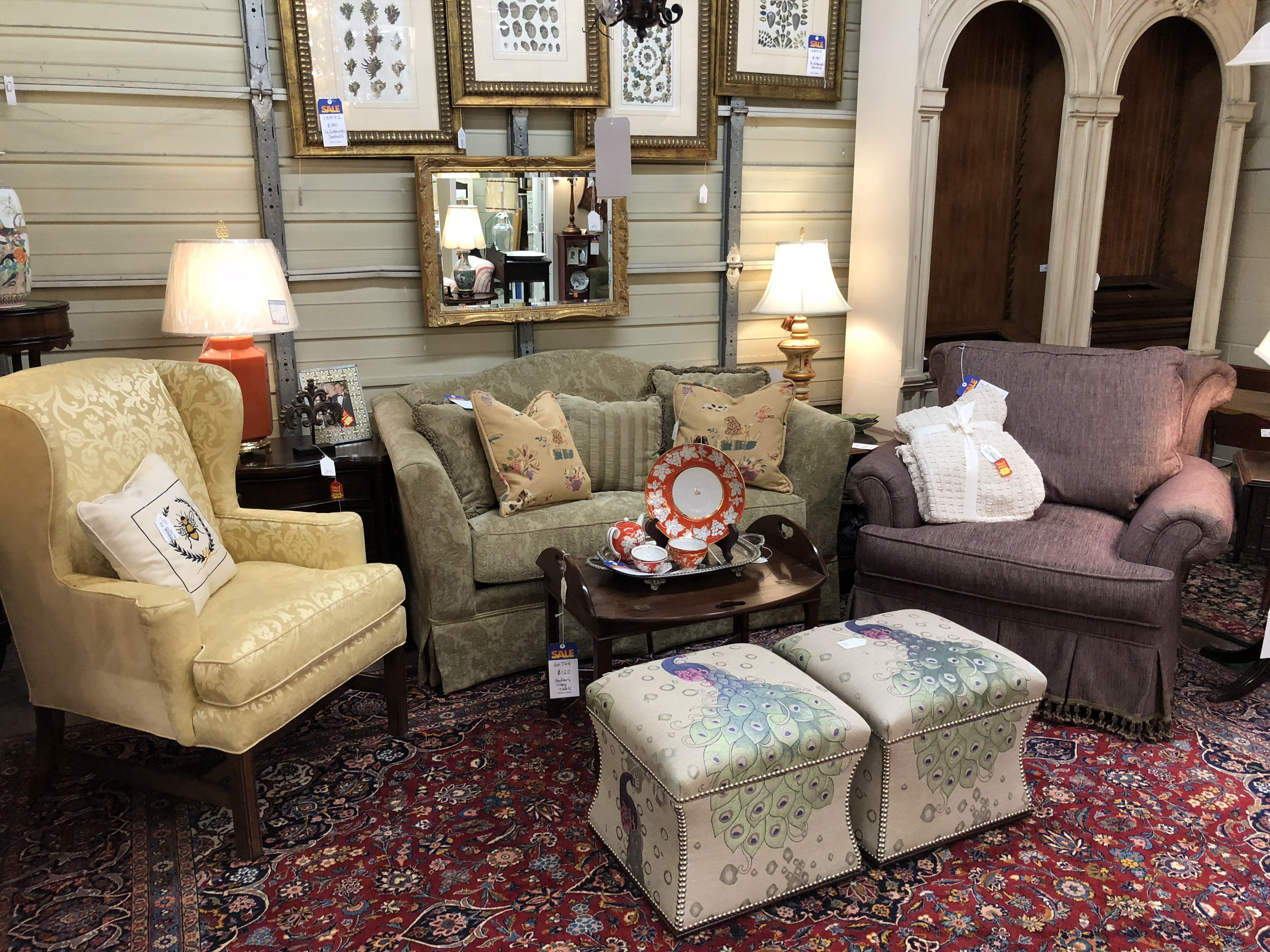 Now again consignments living room essentials