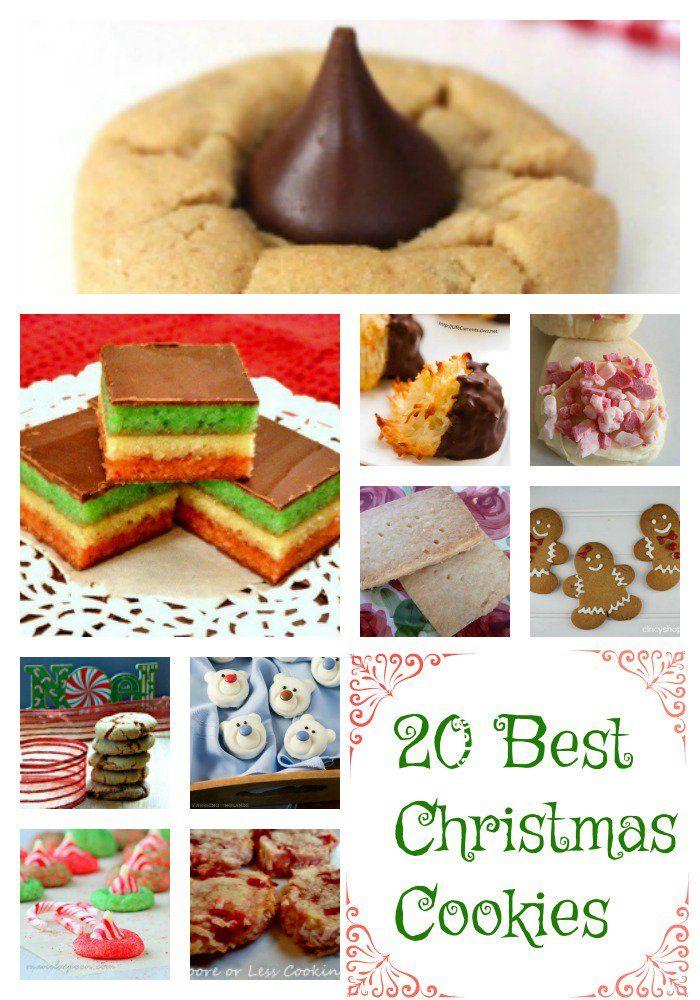 20 Best Christmas Cookies Cookies Brownies And Dessert Bars