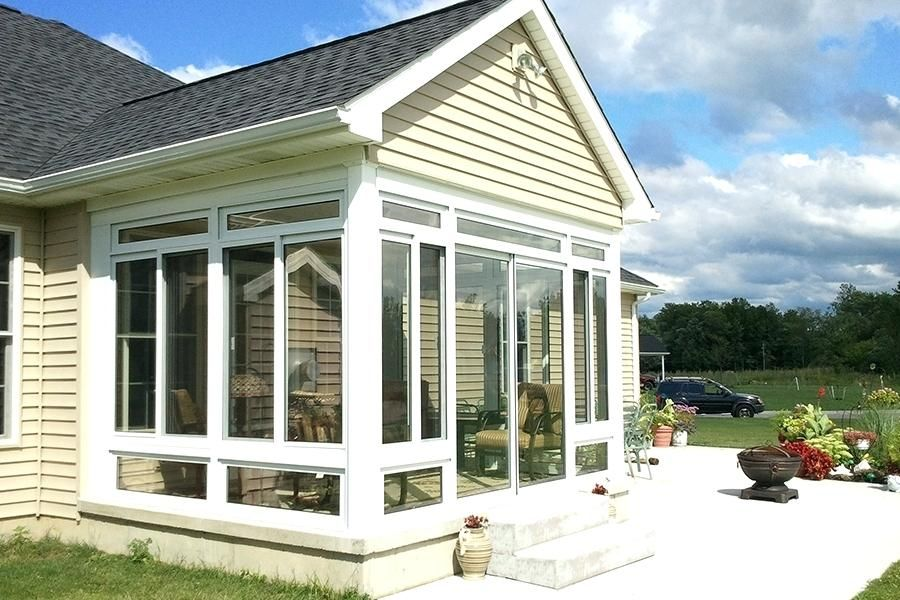 how to enclose a patio cheaply