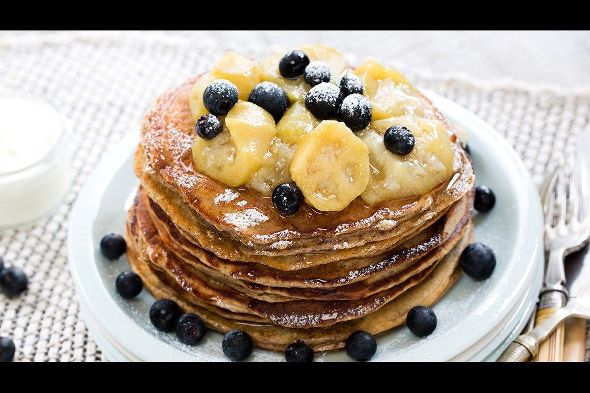 Wholemeal Buttermilk Pancakes Recipe Savoury Food Coconut Pancakes Pancake Recipe Buttermilk