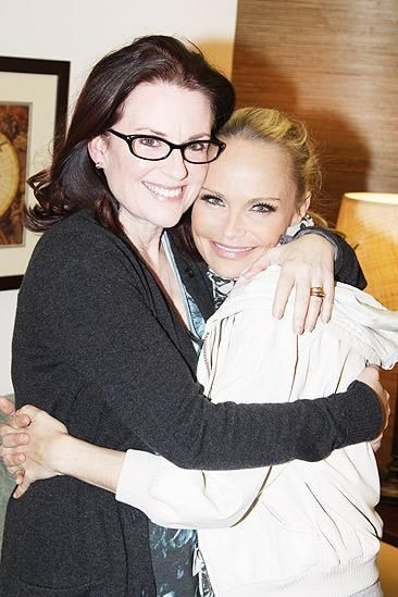 Megan Mullally And Kristin Chenoweth Celebrity Best Friends