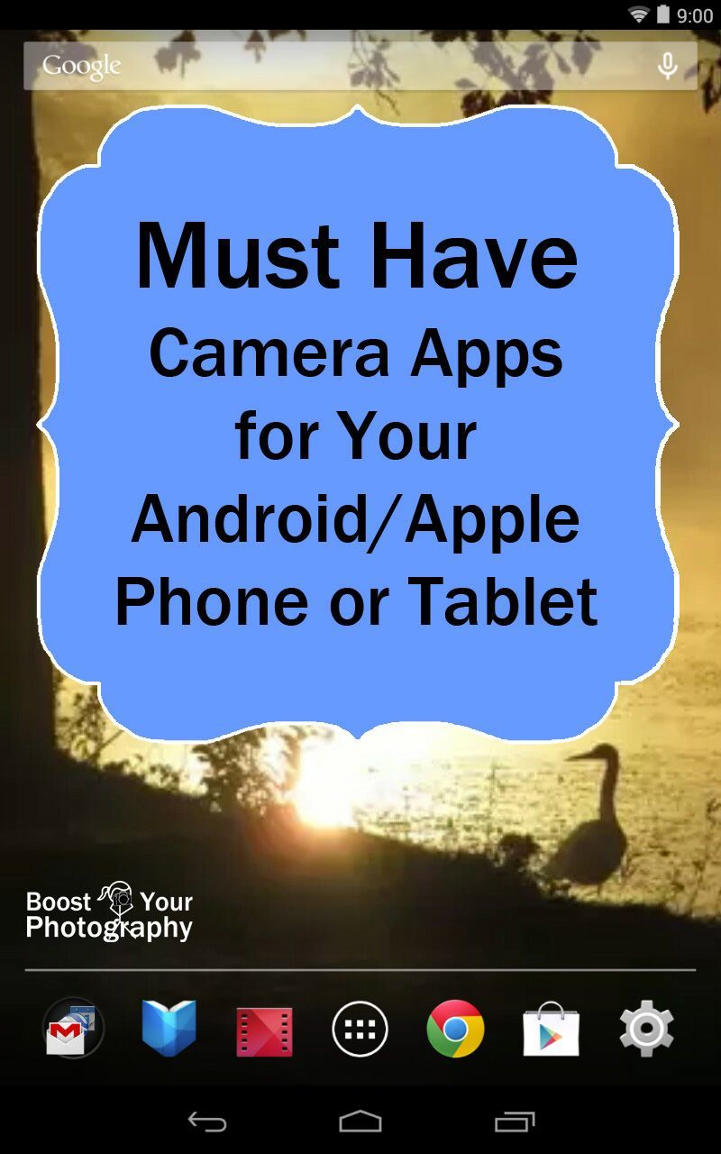 Must Have Photography Camera Apps for Your Android or