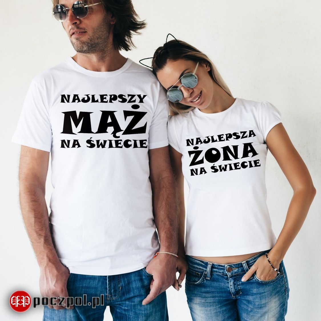 Najlepszy Maz I Najlepsza Zona Streetwear Koszulki Design
