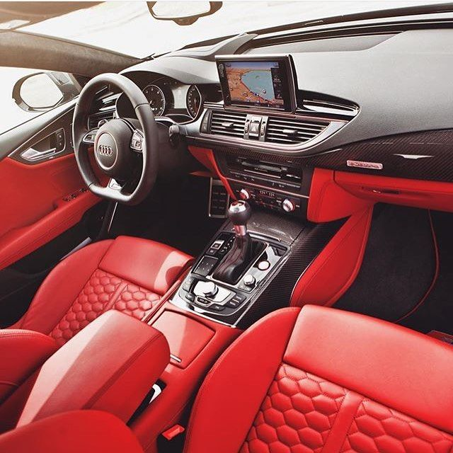 The Brilliant 2016 Audi Rs7 Sportback Interior Captured By