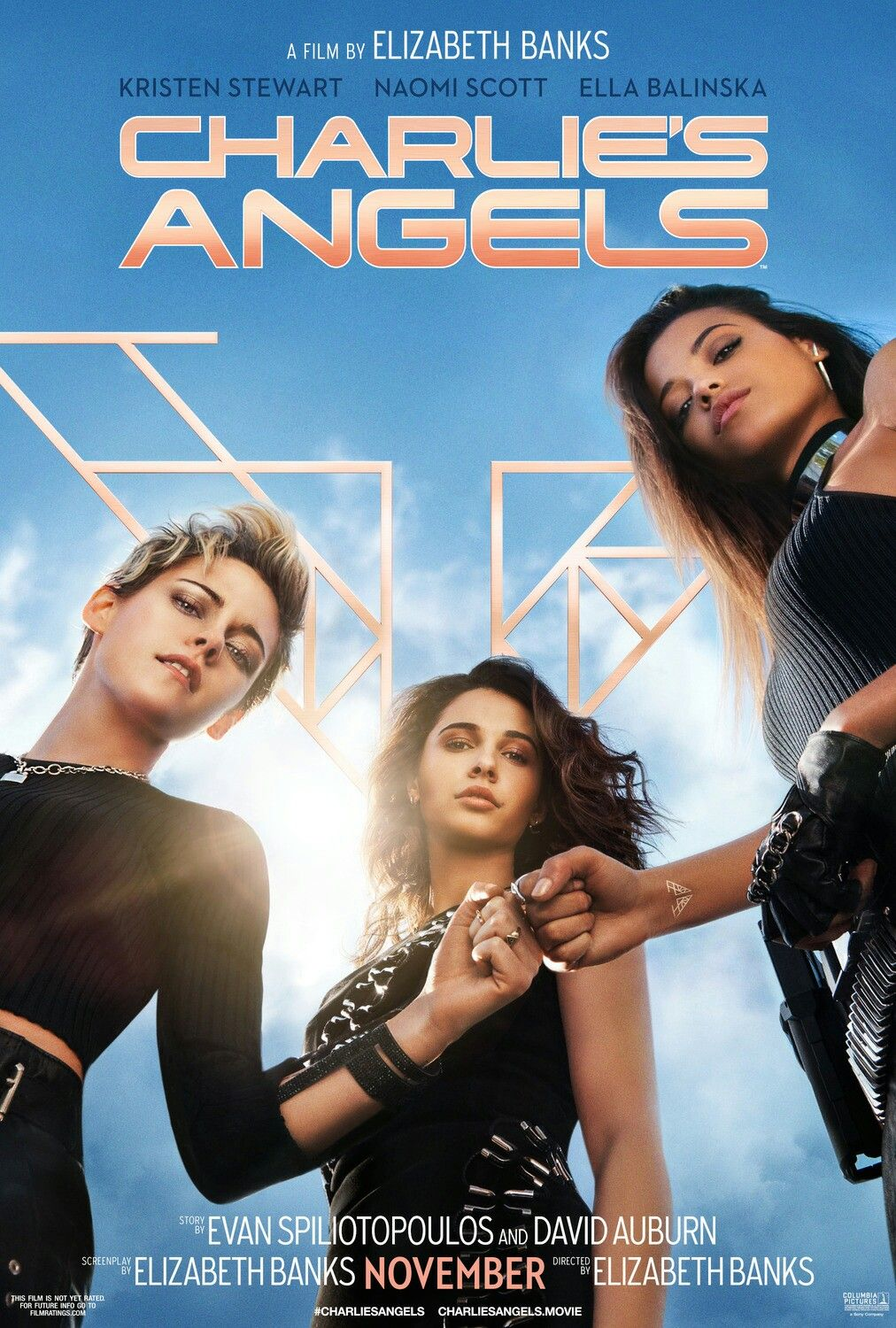 New Poster For The Remake Of Charlie S Angels 2019 Dir