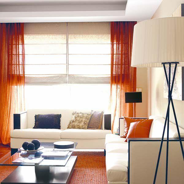 Diez ideas para combinar cortinas y estores Ideas para and Decoration