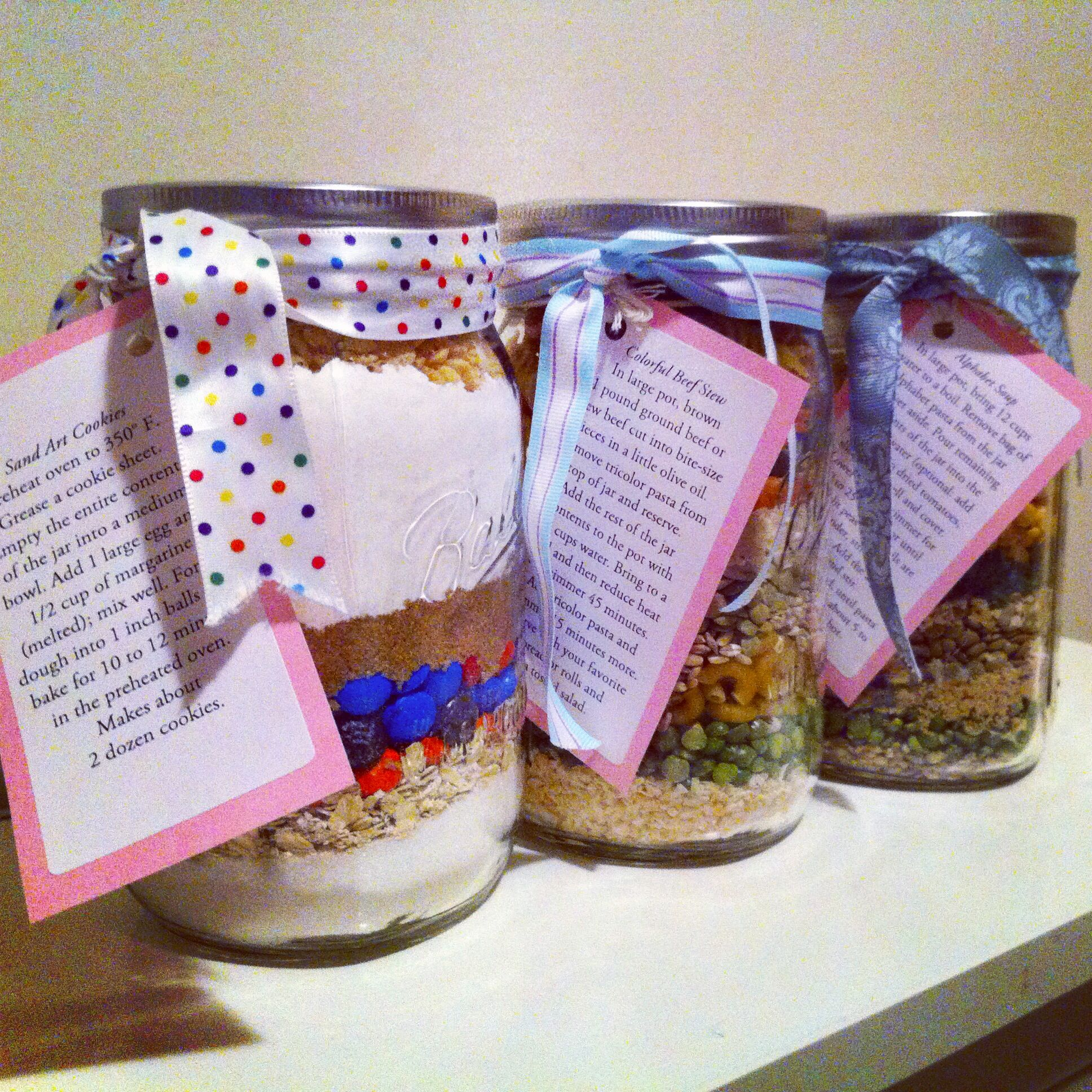 Recipesinajar for a wedding shower gift, my friend and
