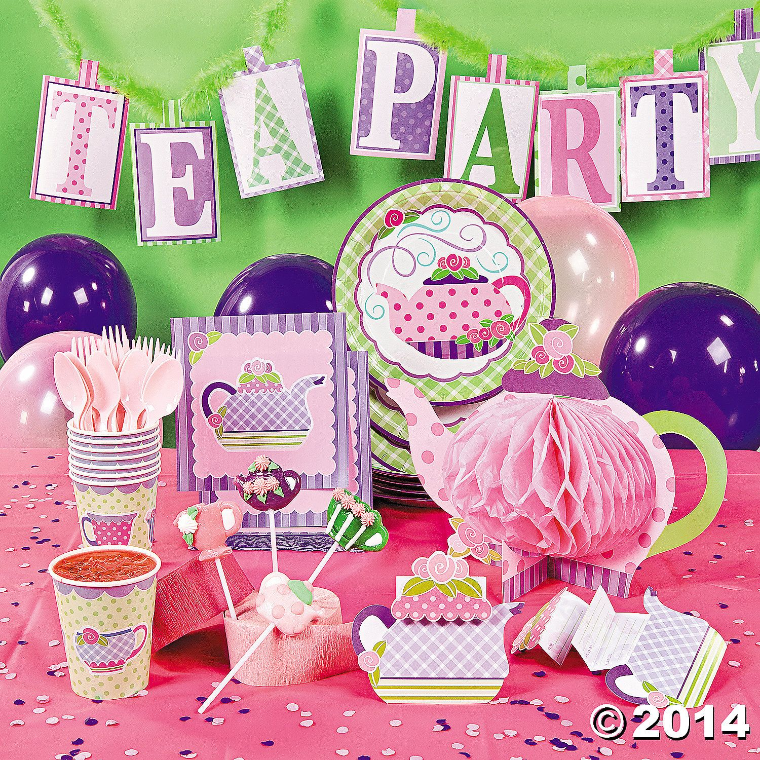 Tea+Party+Deluxe+Party+Pack+-+OrientalTrading.com | Princess party ...