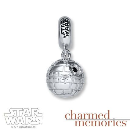 Charmed Memories Star Wars R2-D2/C-3PO Sterling Silver Charms WXBSEEL