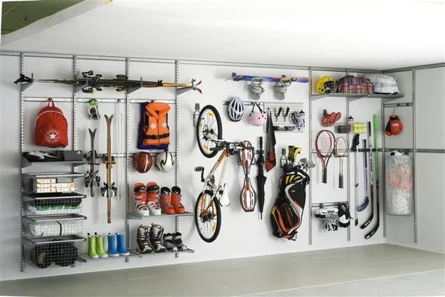 20 Garage Wall Storage Ideas  Space Organization with Storage Shelves and  Racks. 20 Garage Wall Storage Ideas  Space Organization with Storage
