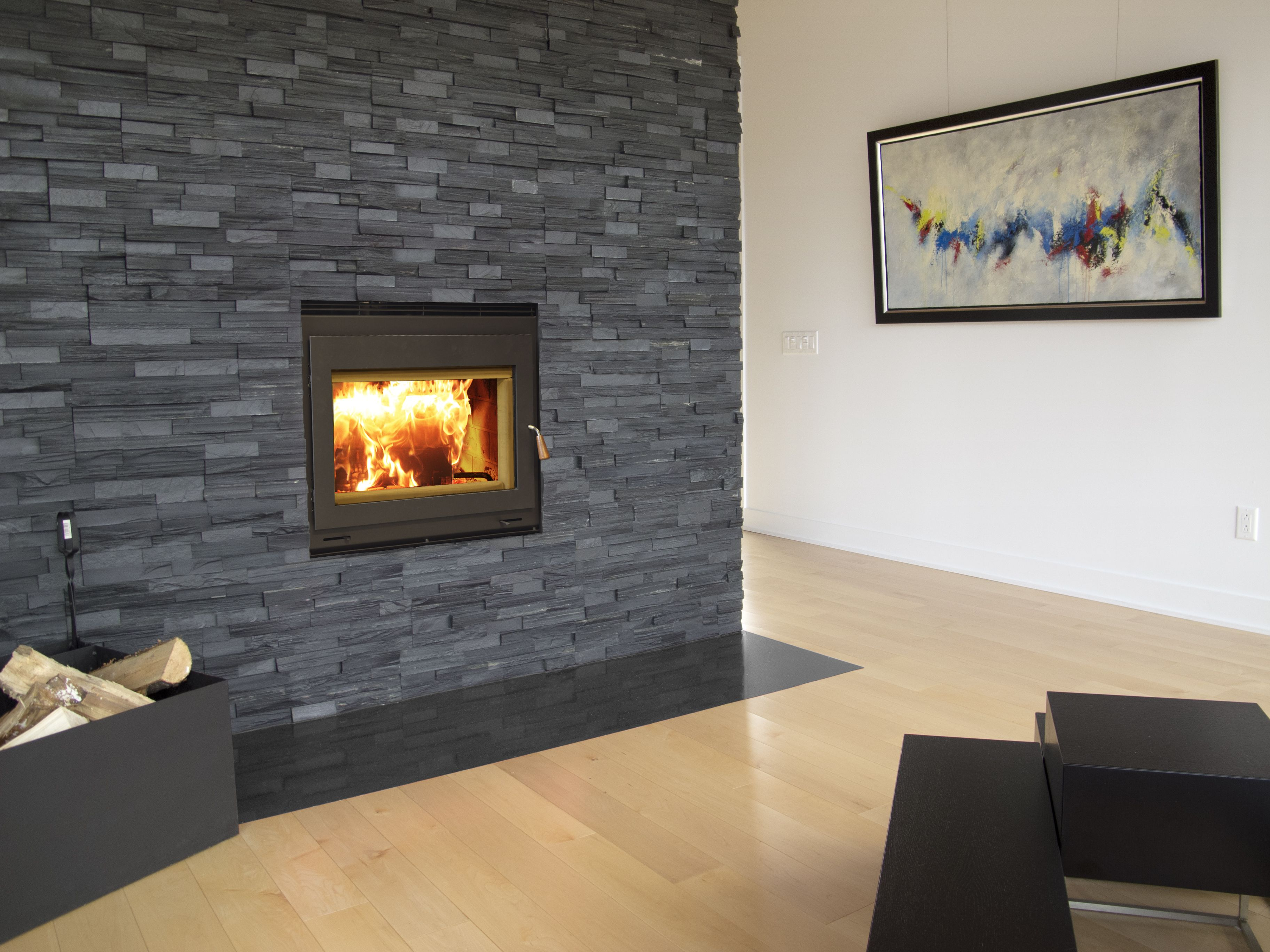 Rsf Wood Burning Fireplace Can Heat More Than Just One Room With