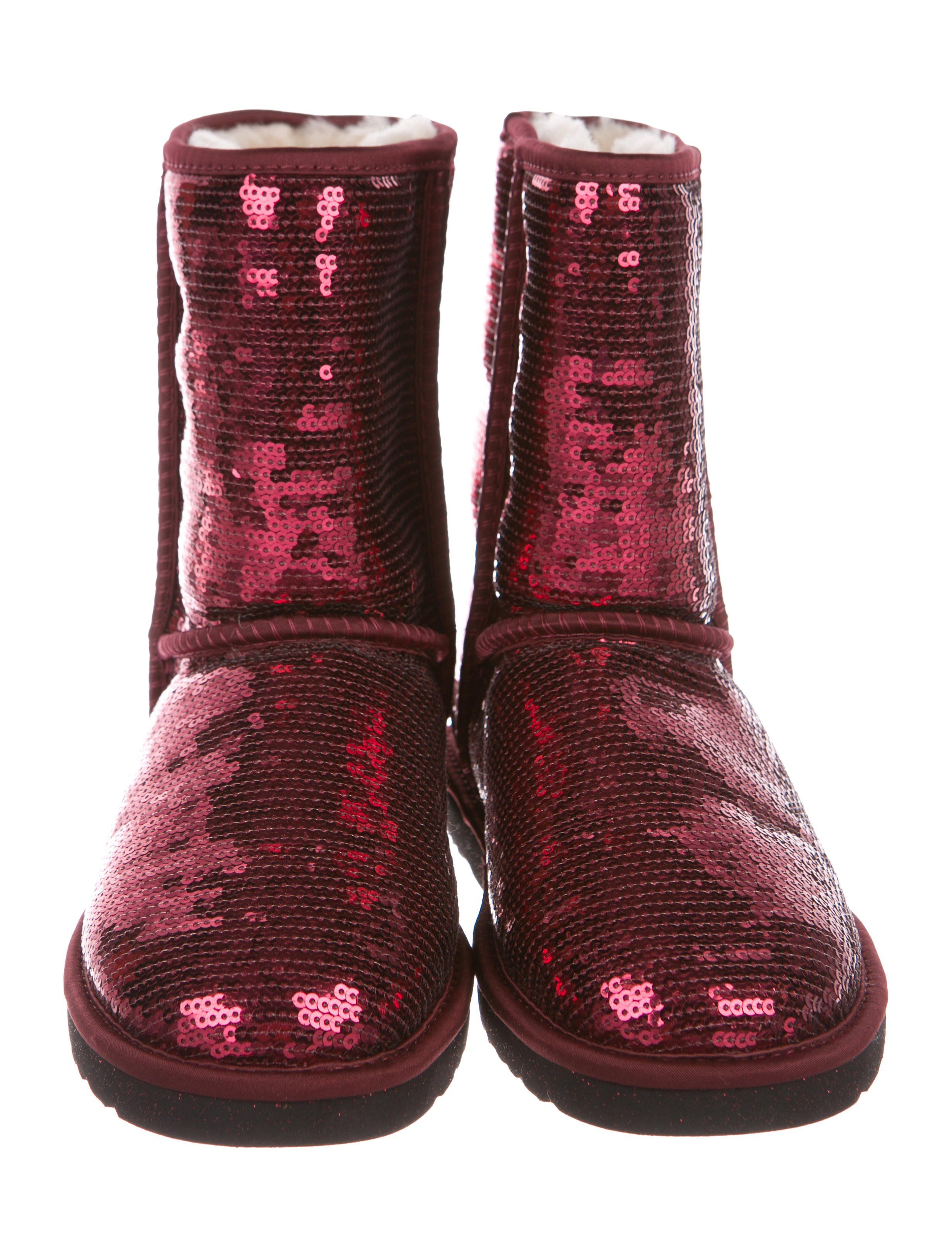 3734f9cef11 Sequin Classic Short Boots w/ Tags | Steak | Boots, Uggs, Short boots